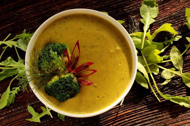 Brokkoli leves Séfbabér