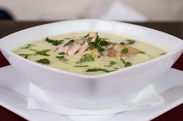 Szárnyas krém leves Séfbabér